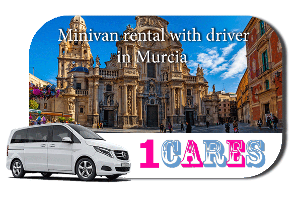 Rent a minivan with driver in Murcia