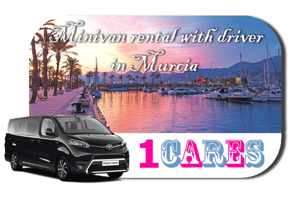 Hire a minivan with driver in Murcia