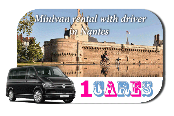 Rent a minivan with driver in Nantes