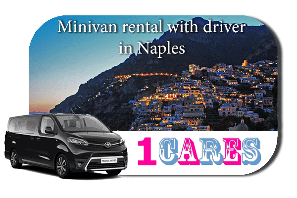 Hire a minivan with driver in Naples