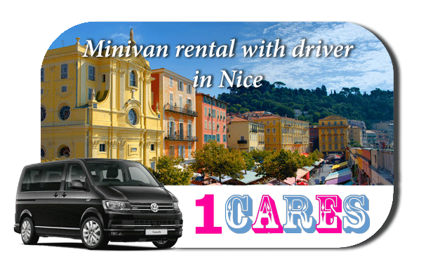 Rent a minivan with driver in Nice