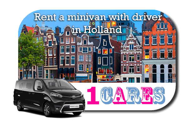 Rent a minivan with driver in the Netherlands