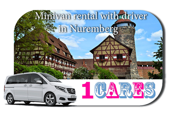 Rent a minivan with driver in Nuremberg