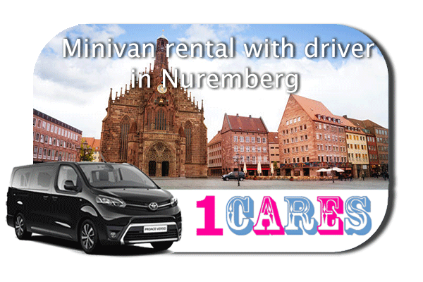 Hire a minivan with driver in Nuremberg