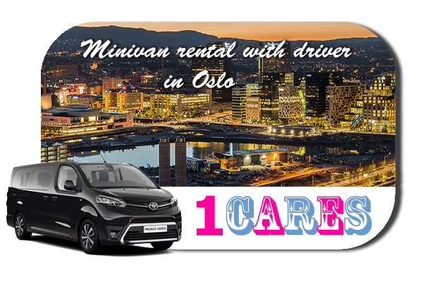 Hire a minivan with driver in Oslo