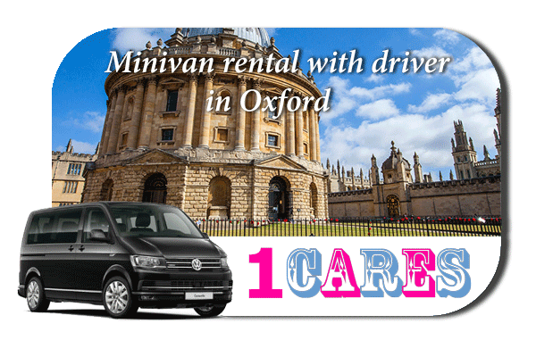 Rent a minivan with driver in Oxford
