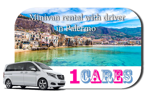 Rent a minivan with driver in Palermo