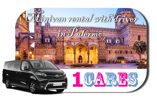 Hire a minivan with driver in Palermo