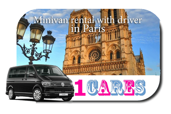 Rent a minivan with driver in Paris