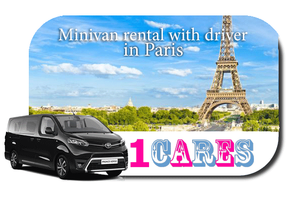 Hire a minivan with driver in Paris