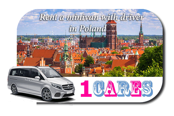 Rent a minivan with driver in Poland