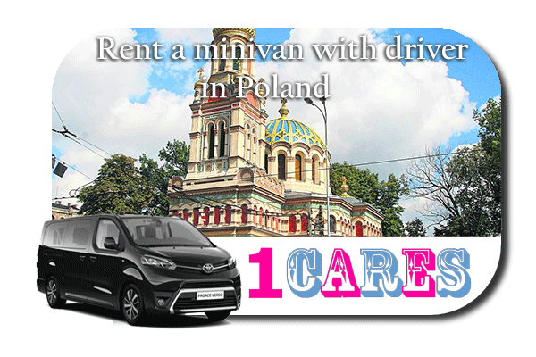 Hire a minivan with driver in Poland