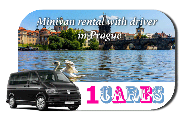 Rent a minivan with driver in Prague