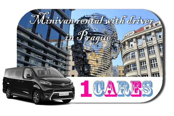 Hire a minivan with driver in Prague