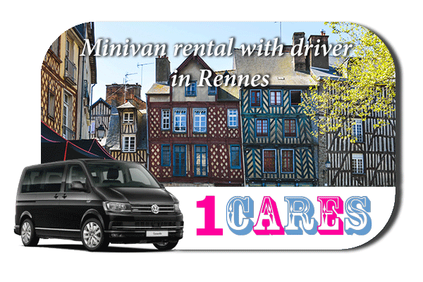Rent a minivan with driver in Rennes