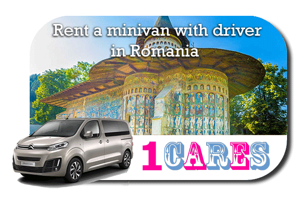 Rent a minivan with driver in Romania