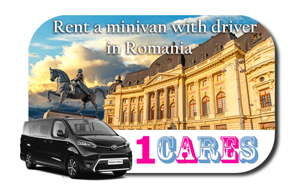 Hire a minivan with driver in Romania