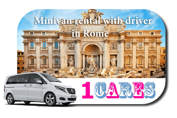 Rent a minivan with driver in Rome