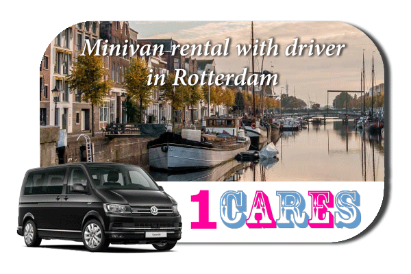 Rent a minivan with driver in Rotterdam