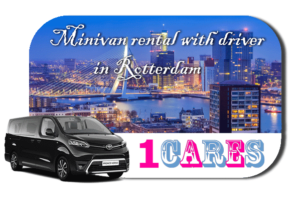 Hire a minivan with driver in Rotterdam