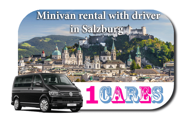 Rent a minivan with driver in Salzburg