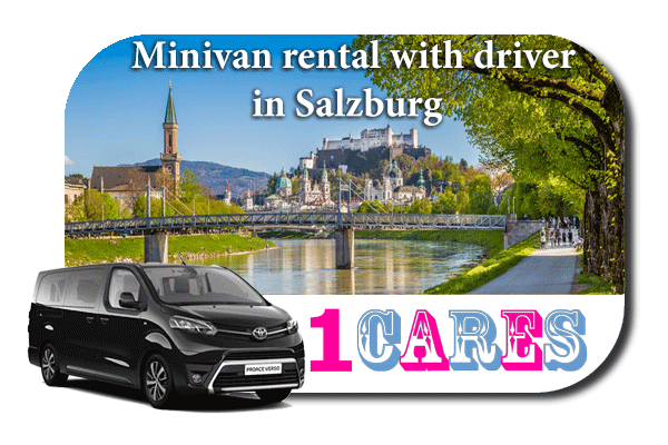 Hire a minivan with driver in Salzburg
