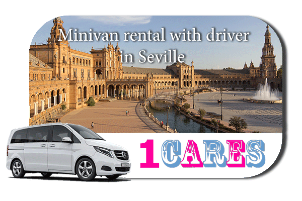 Rent a minivan with driver in Seville