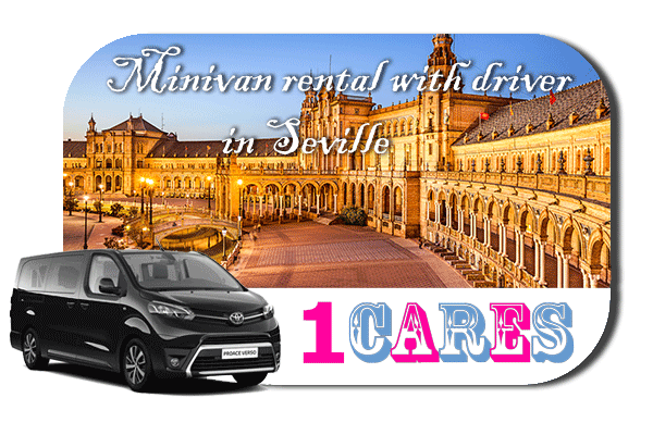 Hire a minivan with in Seville