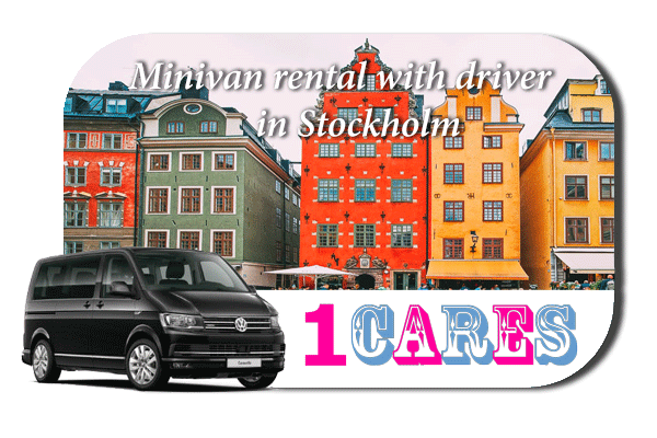 Rent a minivan with driver in Stockholm