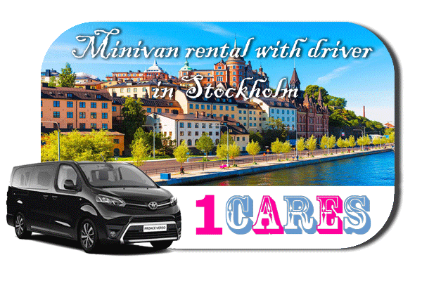 Hire a minivan with driver in Stockholm