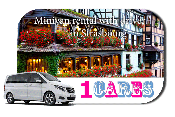Rent a minivan with driver in Strasbourg