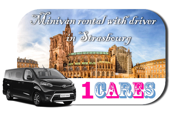 Hire a minivan with driver in Strasbourg