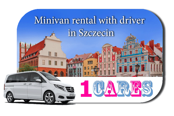Rent a minivan with driver in Szczecin