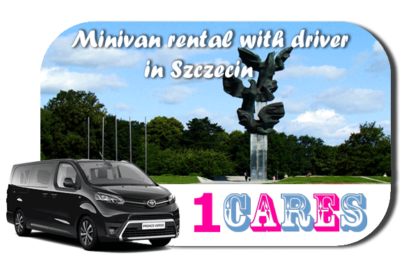 Hire a minivan with driver in Szczecin
