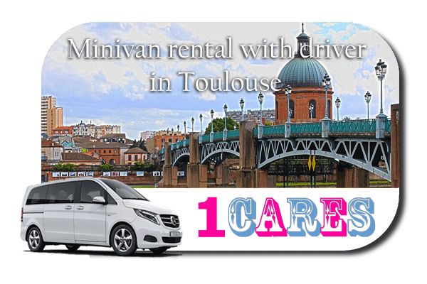 Rent a minivan with driver in Toulouse