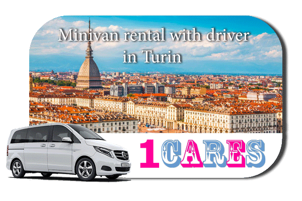 Rent a minivan with driver in Turin