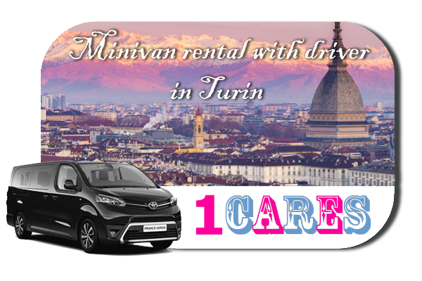 Hire a minivan with in Turin