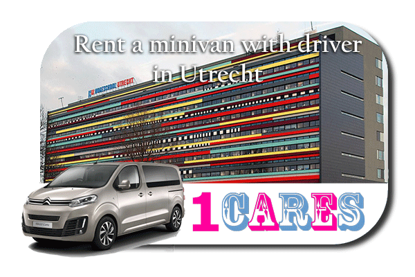 Hire a minivan with driver in Utrecht