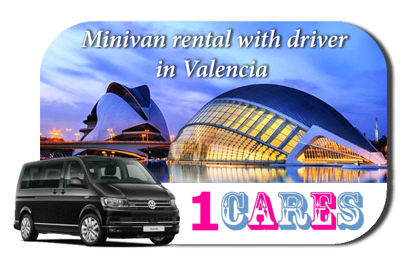 Rent a minivan with driver in Valencia