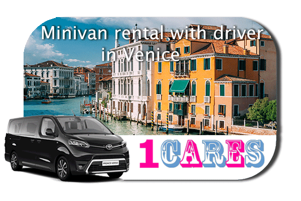 Hire a minivan with driver in Venice