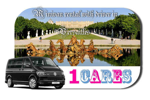 Rent a minivan with driver in Versailles
