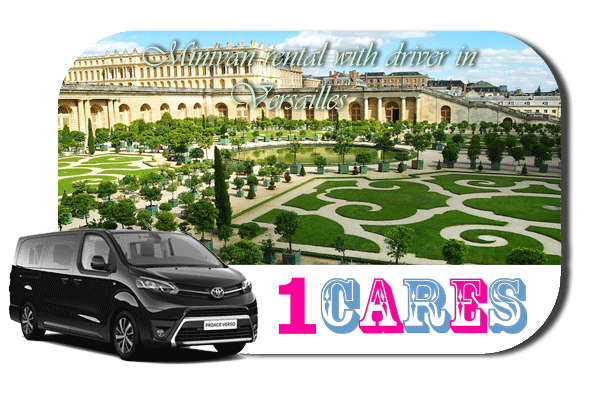 Hire a minivan with in Versailles
