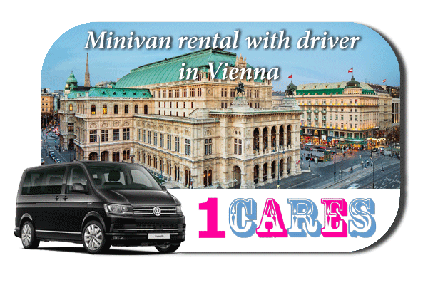 Rent a minivan with driver in Vienna