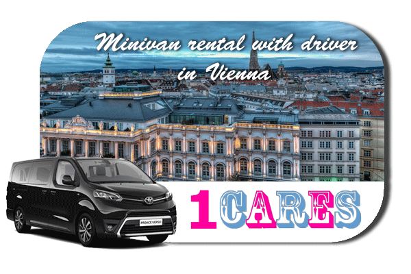 Hire a minivan with driver in Vienna