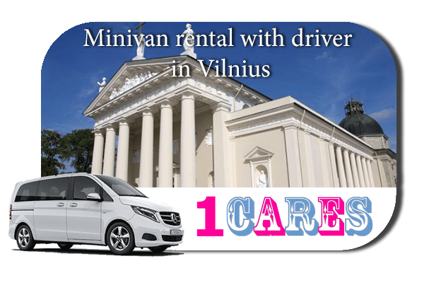 Rent a minivan with driver in Vilnius