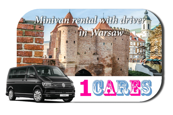 Rent a minivan with driver in Warsaw