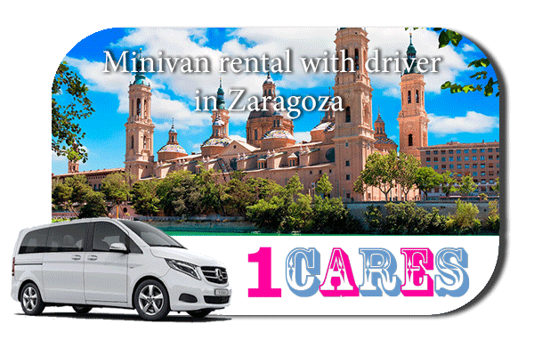Rent a minivan with driver in Zaragoza