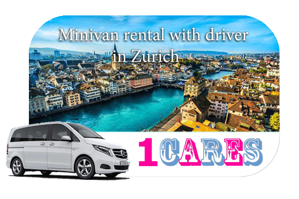 Rent a minivan with driver in Zurich