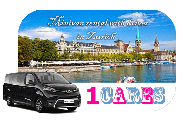 Hire a minivan with driver in Zurich