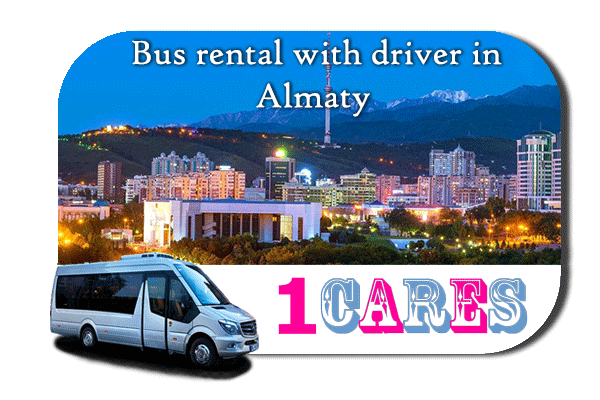 Hire a bus in Almaty